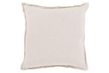 Accent Pillow-Clara White 22X22