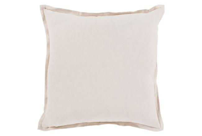 Accent Pillow-Clara White 22X22 - 360