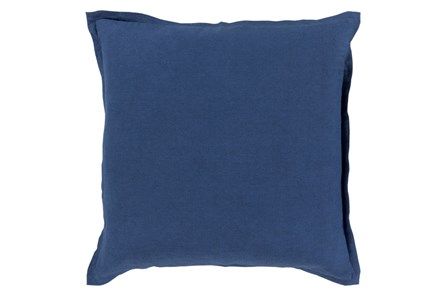 Accent Pillow-Clara Navy 22X22 - Main