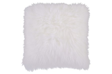 Accent Pillow-Fur Ivory 20X20 - Main