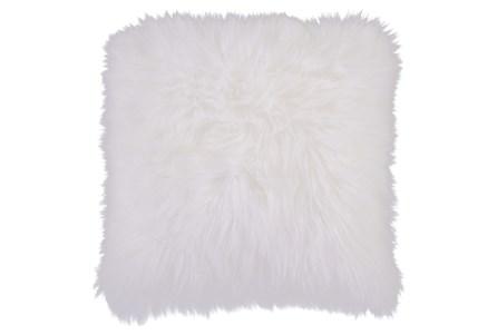 Accent Pillow-Fur Ivory 20X20 - Main