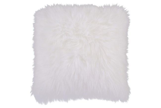 Accent Pillow-Fur Ivory 20X20 - 360