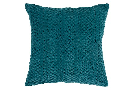 Accent Pillow-Velour Emerald 18X18