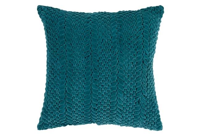 Accent Pillow-Velour Emerald 18X18 - 360