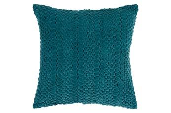 Accent Pillow-Velour Emerald 22X22