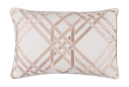 Accent Pillow-Alcove Ivory 13X20