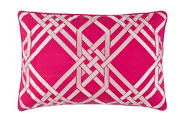 Accent Pillow-Alcove Magenta 13X20