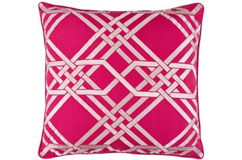 Accent Pillow-Alcove Magenta 18X18