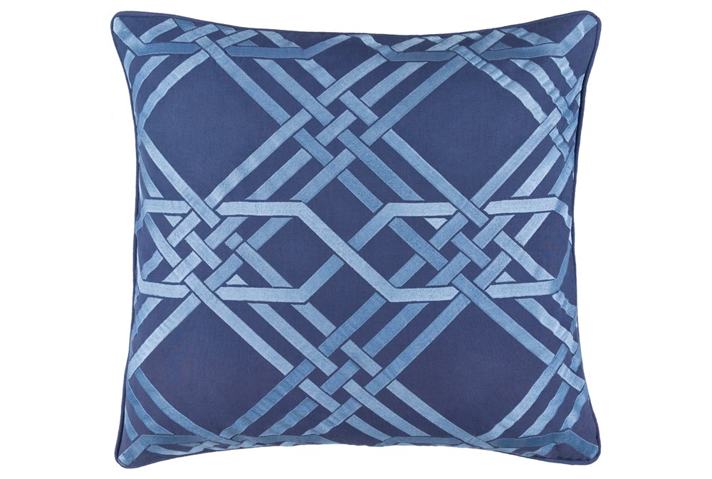Accent Pillow-Alcove Cobalt 18X18