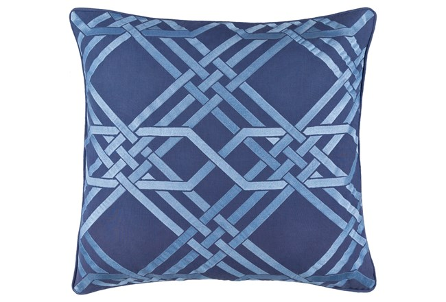 Accent Pillow-Alcove Cobalt 18X18 - 360