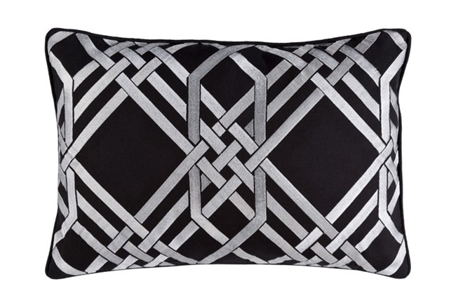 Accent Pillow-Alcove Black 13X20 - 360