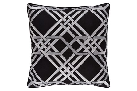 Accent Pillow-Alcove Black 18X18