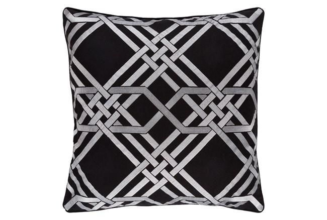 Accent Pillow-Alcove Black 18X18 - 360