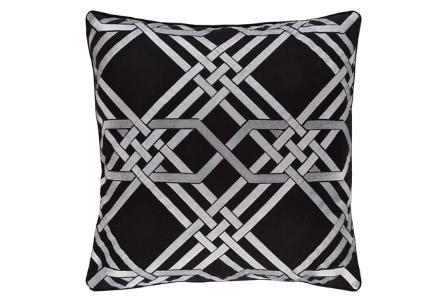 Accent Pillow-Alcove Black 18X18 - 360