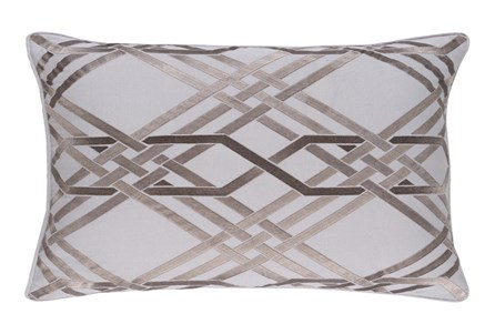 Accent Pillow-Alcove Grey 13X20