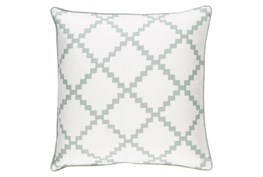 Accent Pillow-Delia Lattice Moss 18X18