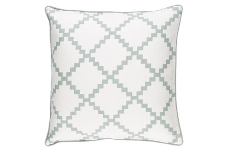 Accent Pillow-Delia Lattice Moss 22X22