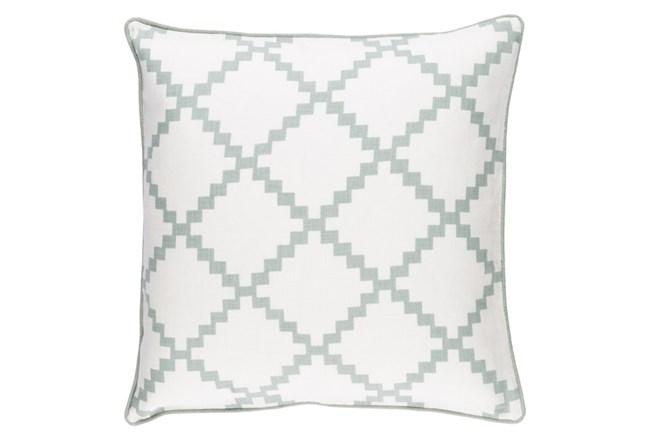 Accent Pillow-Delia Lattice Moss 22X22 - 360
