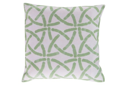 Accent Pillow-Inaya Seafoam 18X18