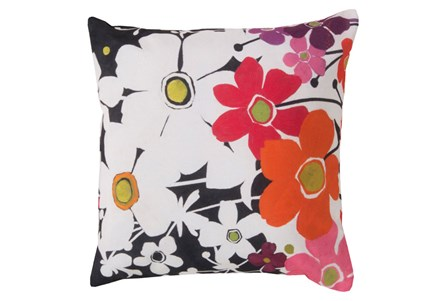 Accent Pillow-Amber Floral Multi 18X18