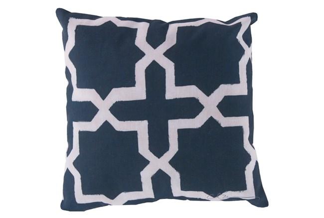Accent Pillow-Godrick Navy 20X20 - 360