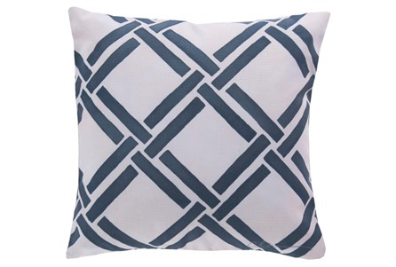 Accent Pillow-Lara Navy 20X20