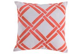 Accent Pillow-Lara Coral 20X20