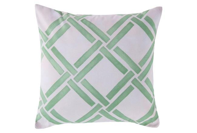 Accent Pillow-Lara Seafoam 18X18 - 360