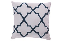 Accent Pillow-Manon Navy 18X18