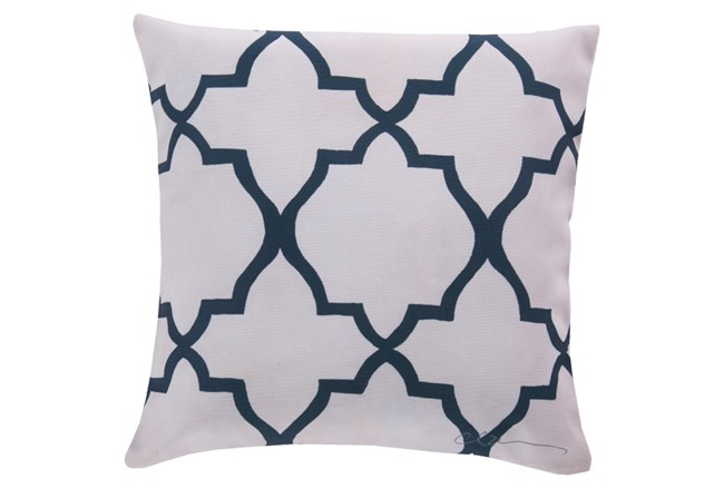Accent Pillow-Manon Navy 20X20 - 360