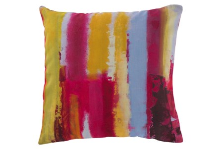 Accent Pillow-Tina Paints Multi 18X18