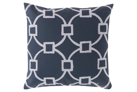 Accent Pillow-Margaux Navy 18X18