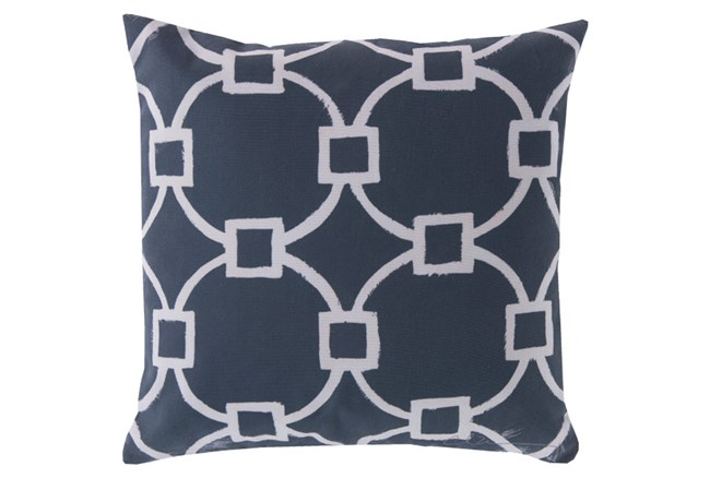 Accent Pillow-Margaux Navy 18X18 - 360
