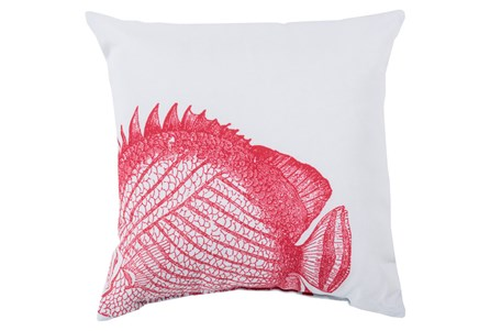Accent Pillow-Long Island Fish 18X18