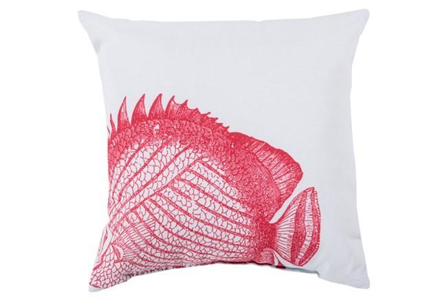 Accent Pillow-Long Island Fish 20X20 - 360