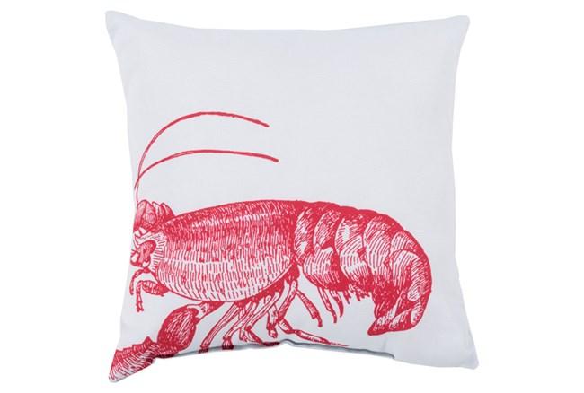 Accent Pillow-Long Island Lobster 18X18 - 360
