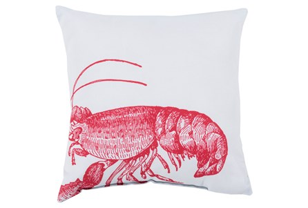 Accent Pillow-Long Island Lobster 20X20