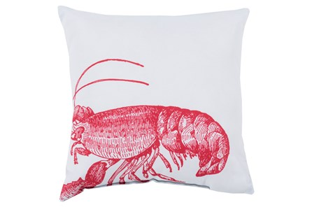 Accent Pillow-Long Island Lobster 20X20 - Main