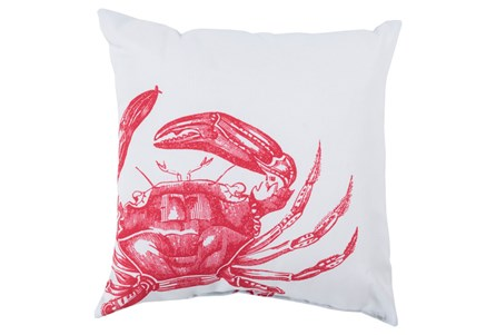 Accent Pillow-Long Island Crab 20X20