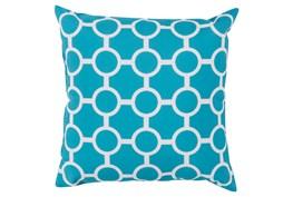 Accent Pillow-Estelle Aqua 20X20