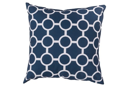 Accent Pillow-Estelle Navy 18X18