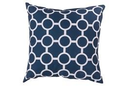 Accent Pillow-Estelle Navy 20X20