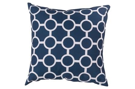 Accent Pillow-Estelle Navy 20X20 - Main