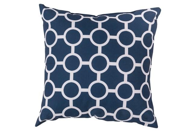 Accent Pillow-Estelle Navy 20X20 - 360