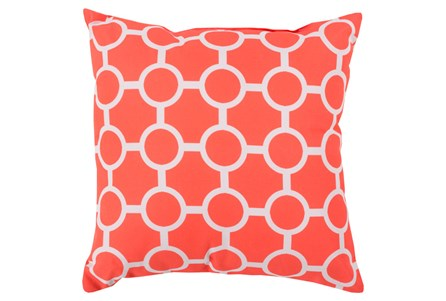 Accent Pillow-Estelle Coral 18X18