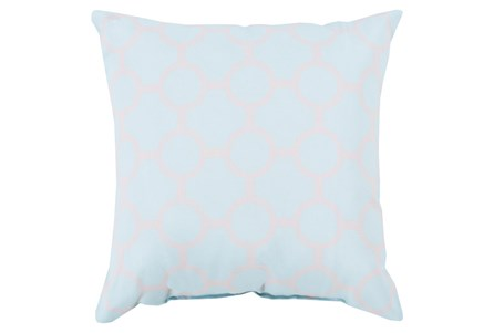 Accent Pillow-Estelle Pale Blue 18X18