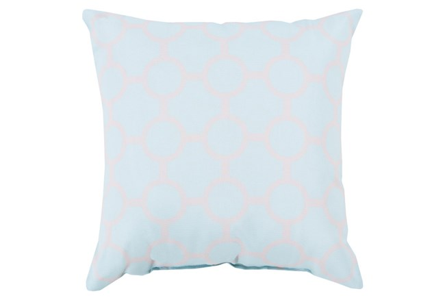 Accent Pillow-Estelle Pale Blue 18X18 - 360