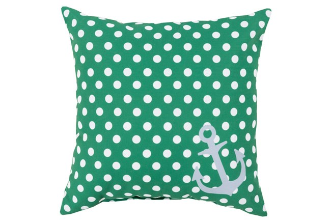 Accent Pillow-Mainstay Emerald 18X18 - 360