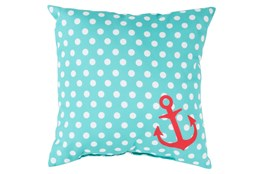 Accent Pillow-Mainstay Sky Blue 18X18