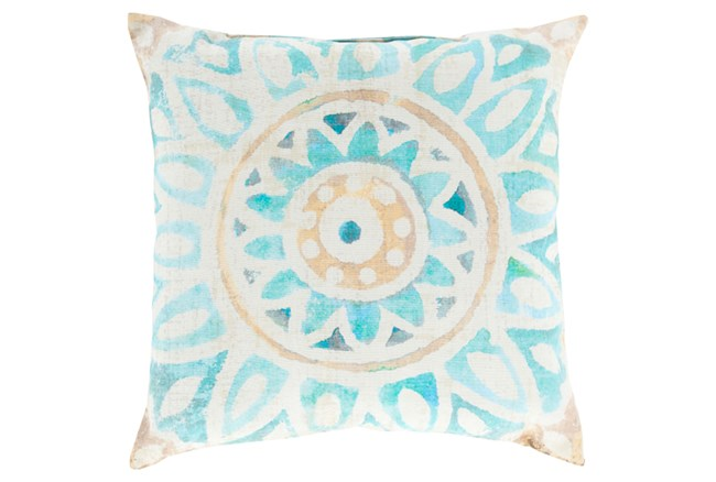 Accent Pillow-Mazarine Ivory Multi 18X18 - 360